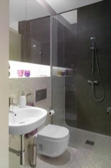 Cuarto de baño. Diseño interior de mini-apartamento en Madrid