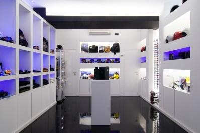 Diseño tienda de complementos en Ponferrada. Exposición de complementos