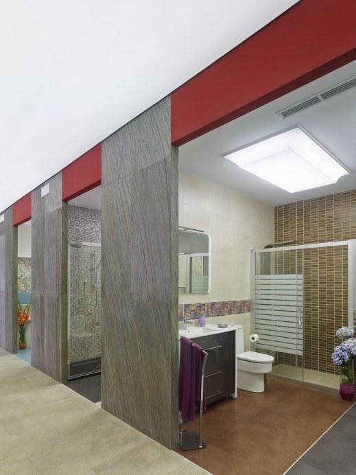 Diseño de showroom de materiales de construcción en Galicia