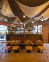 Mesas en Nana Pancha, restaurante mexicano en A Coruña-Galicia