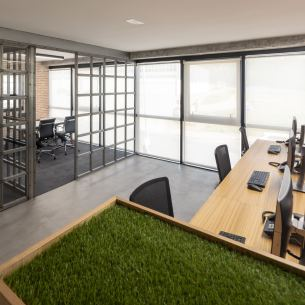 Despachos en diseño de oficinas Greenalia, The Green Company