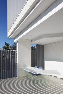 Terraza-Diseño interior vivienda futurista en Elche