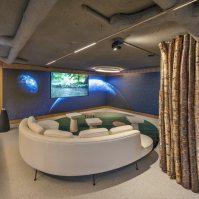 Audiovisuales en Diseño de oficinas Sutega LAB