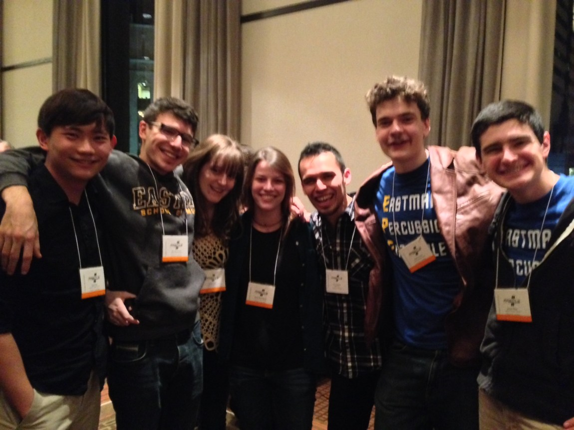 w/ the Eastman crew that premiered my new piece Catching Shadows! Thank you Sam, Max, Emily, Sarah, Sean, and Jarryd!