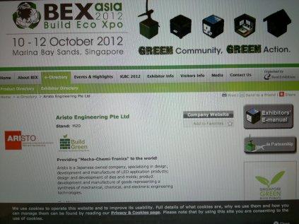 Bex Asia 2012