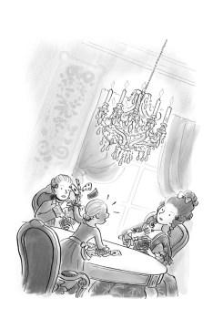 """""""Gemaskerd naar het bal"""", Leopold"""