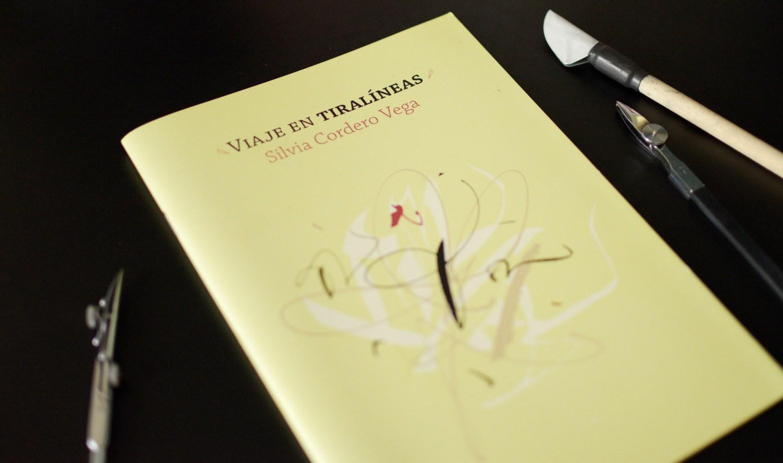 """Capa do livro """"Viaje en Tiralíneas"""""""