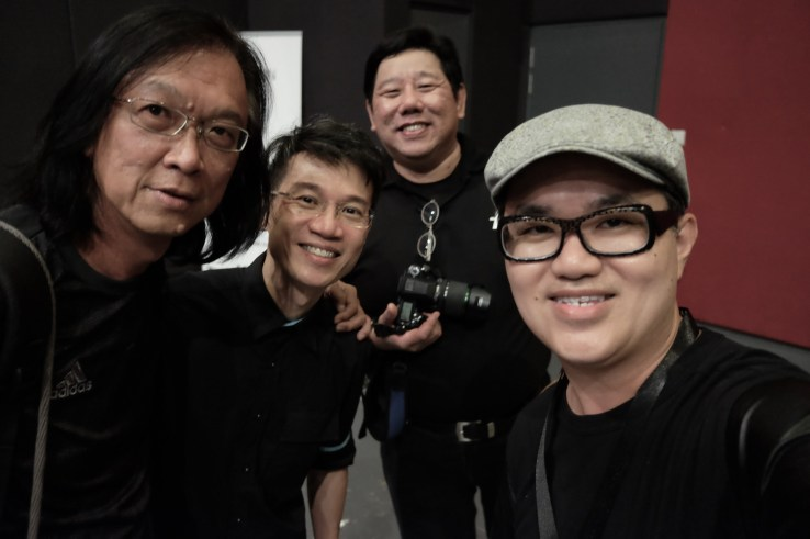 Wifie with Danny, Eujin from Broncolor and Patrick from Shriro.