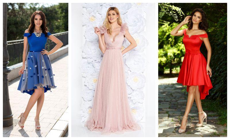 55 Modele Rochii domnisoare de onoare 2019: lungi si scurte online