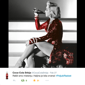Poljubi Radost Coca-Cola