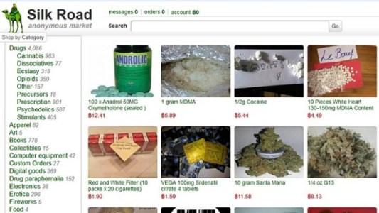Silk Road darknet site