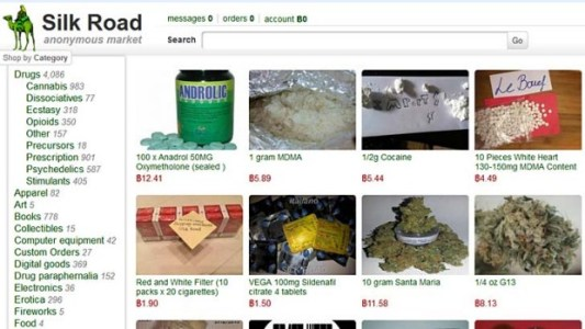 Silk Road darknet site