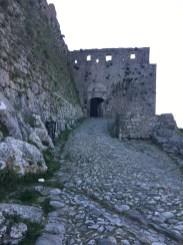 Ulaz u tvrđavu Rozafa
