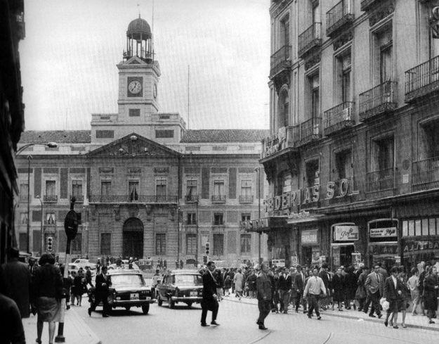 La sede de la Dirección General de Seguridad en 1966