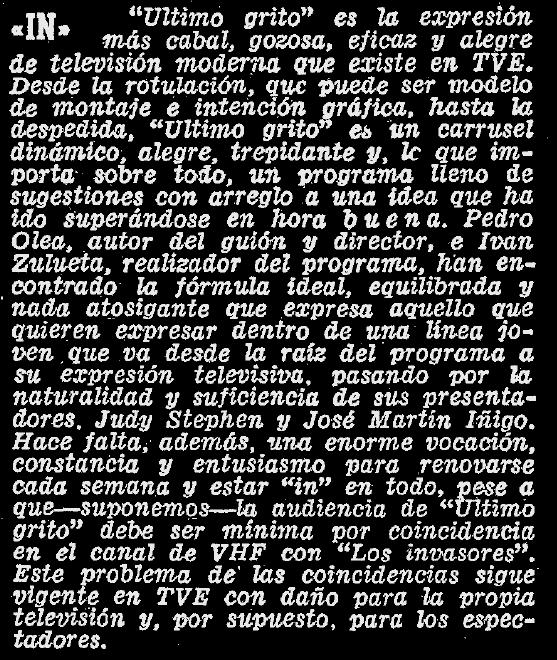 Crítica en ABC (24 de noviembre de 1968)