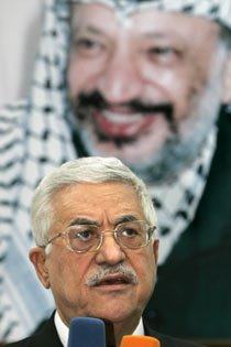 Did Abbas do away with a politically weakend Yasser Arafat?