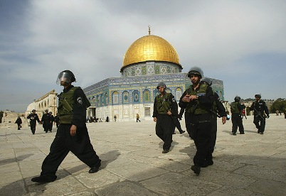 The Temple Mount in Jerusalem is the site for the final battle of the Messiah