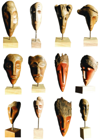 Faces da floresta