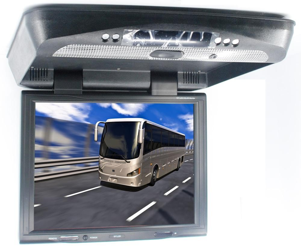 15 Flip Down DVD Player 1