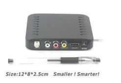 VCAN1092 Car ISDB-T Philippines Digital TV Receiver black box MPEG4 HDMI USB PVR Remote 7