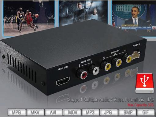 DVB-T2100HD Car DVB-T MPEG4 H.264 tv receiver with 2 tuner PVR USB Record 3
