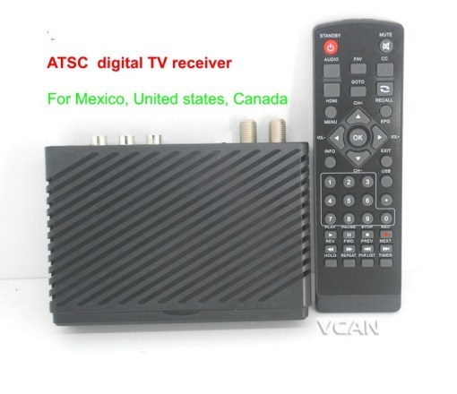 VCAN1098 Mini HD Home ATSC Digital TV Receiver for Mexico 2