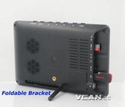 7 DVB-T2 7 inch Digital TV monitor Analog TV USB TF MP5 player AV in Rechargeable Battery 8