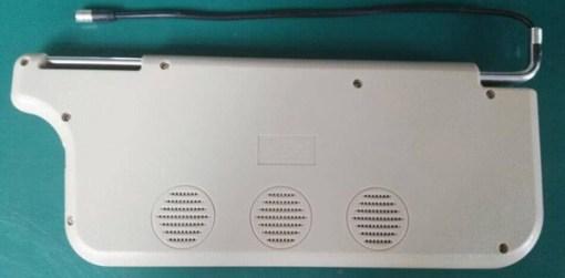 7 inch sun visor DVD player sunvisor left right side USB SD movie player black grey beige factory promotion TM-6686 7010 14