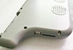 7 inch sun visor DVD player sunvisor left right side USB SD movie player black grey beige factory promotion TM-6686 7010 22