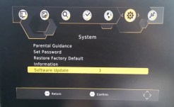 Car DVB-T2 H265 firmware