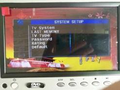 7 inch sun visor DVD player sunvisor left right side USB SD movie player black grey beige factory promotion TM-6686 7010 18