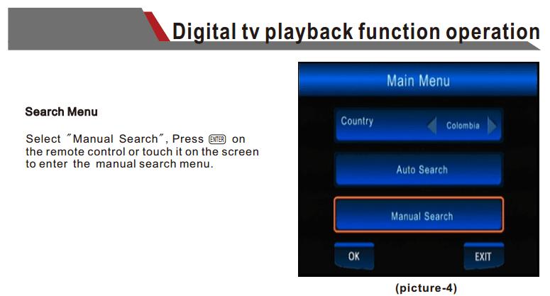 ATSC Car TV Digital receiver for USA Canada Mexico ATSC-201 3