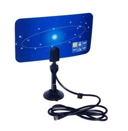 VCAN0992 Digital TV DVB-T2 UHF/VHF Flat antenna and No extra power required for home use 6
