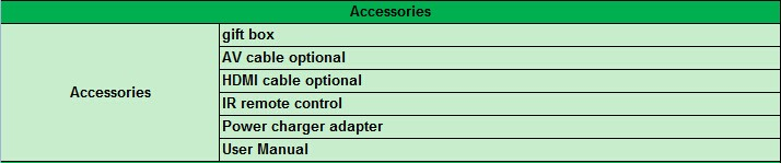 VCAN1170 IPTV box Android 4.4.2 OTT DVB-T2 Supports H.265-H.264 full HD HDMI stick 10
