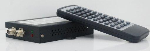 Car DVB-T 2 Antenna TV receiver VCAN1062 HD Digital TV tuner Box support MPEG4 H.264 3