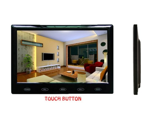 "7"" Car slim design Digital stand LCD Monitor 1"