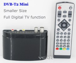 mini Digital TV receiver Set Top Box Home HDTV HDMI USB 9