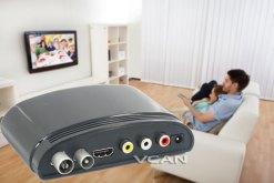 mini Digital TV receiver Set Top Box Home HDTV HDMI USB 8