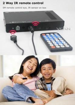 Car DVB-T digital tv receiver 2 antenna tuner TNT TDT 12
