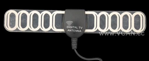 Digital TV antenna DVB-T ISDB-T ATSC high speed film antenna with booster tv signal enlarger active amplifier 5