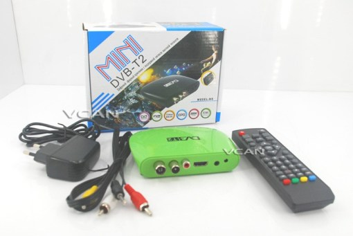 Mini HD DVB-T2 Home H.264 Set Top Box with USB support PVR 6