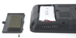 7 inch handheld HD wireless COFDM receiver portable 18