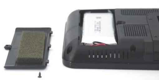 7 inch handheld HD wireless COFDM receiver portable 8