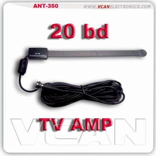 digital tv antenna DVB-T on glass amplifier booster 20db 1