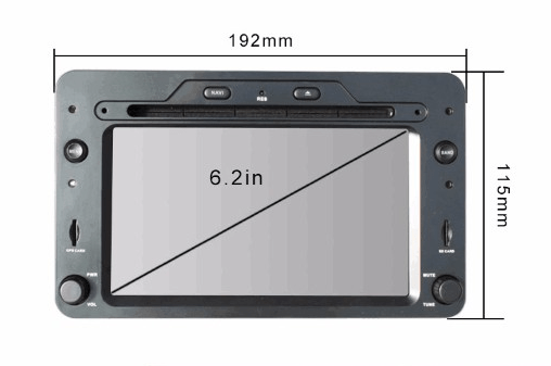 Alfa Romeo android GPS VCAN1443 Quad Core 5.1.1 Car DVD GPS for 159 Sportwagon Spider Brera 3