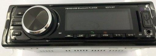 Fixed Panel Car MP3 USB SD FM Bluetooth MP3-6227 2