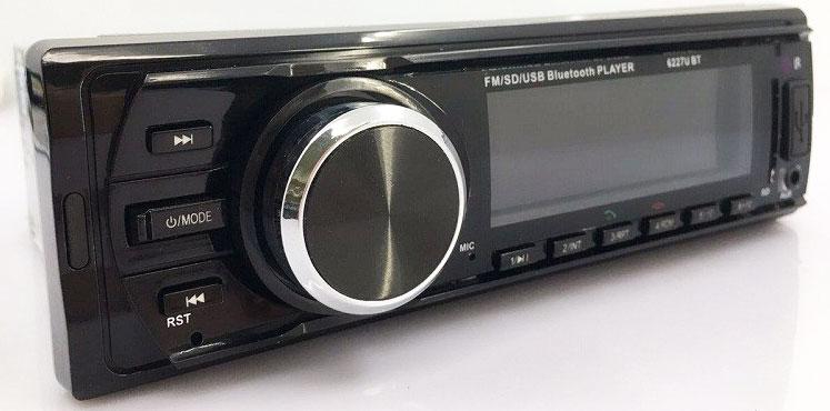 Fixed Panel Car MP3 USB SD FM Bluetooth MP3-6227 23