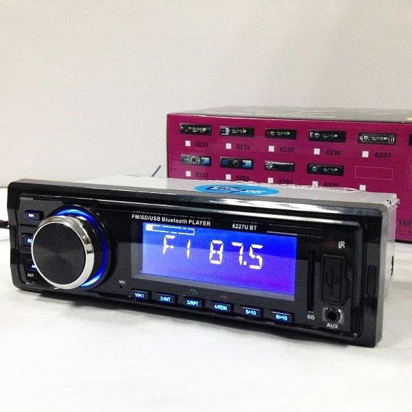Fixed Panel Car MP3 USB SD FM Bluetooth MP3-6227 32