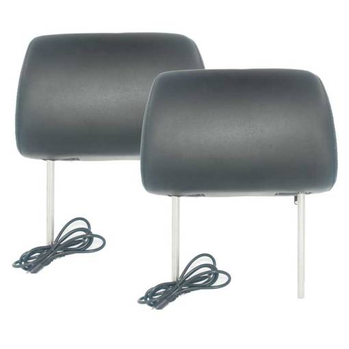 7 inch headrest monitor with pillow bag LED backlight cover zipper 3