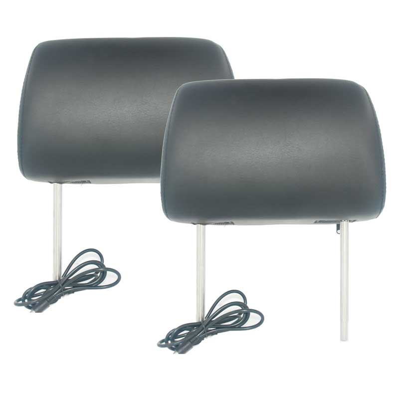 7 inch headrest monitor with pillow bag LED backlight cover zipper 14